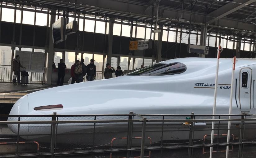Chic, le Shinkansen à 300 km/h (et Fuji enprime)