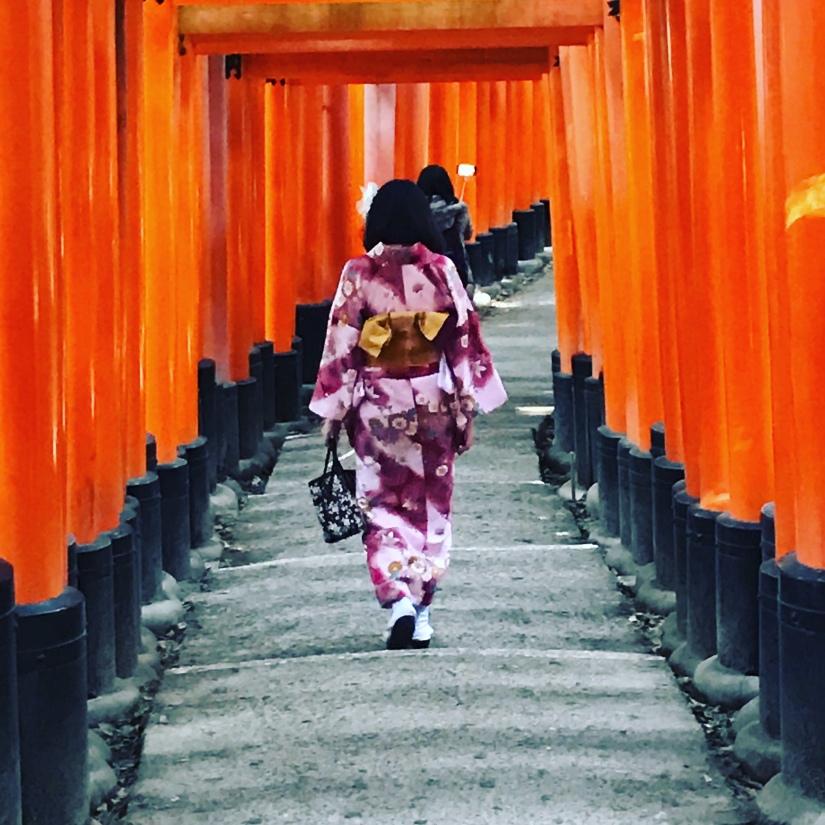 De Tokyo à Kyoto au fil del'O