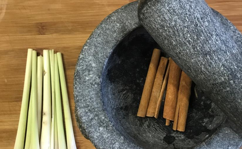 Une tasse d'Asie: Lemongrass &Cannelle